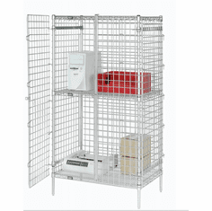 Nexel Wire Shelving Units