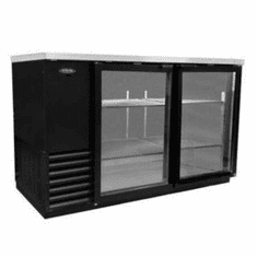 "Nor-Lake Advantedge� Refrigerated Backbar Storage Cabinet2-Section59"" W23.7 Cubic Feet1/3 Hp115V/60/1Nema 5-15PUlEtl Safety And Sanitation Listed, Model# NLBB59G"