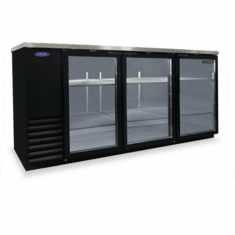 "Nor-Lake Advantedge� Refrigerated Backbar Storage Cabinet3-Section79"" W30.8 Cubic Feet1/3 Hp115V/60/1Nema 5-15PUlEtl Safety And Sanitation Listed, Model# NLBB79G"