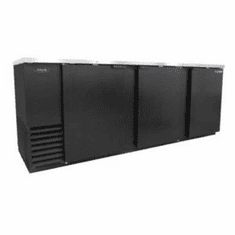 "Nor-Lake Advantedge� Refrigerated Backbar Storage Cabinet3-Section95"" W39.2 Cubic Feet1/3 Hp115V/60/1Nema 5-15PUlEtl Safety And Sanitation Listed, Model# NLBB95"