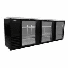 "Nor-Lake Advantedge� Refrigerated Backbar Storage CabinetThree-Section95"" W39.2 Cubic Feet1/3 Hp115V/60/1Nema 5-15PUlEtl Safety And Sanitation Listed, Model# NLBB95-G"
