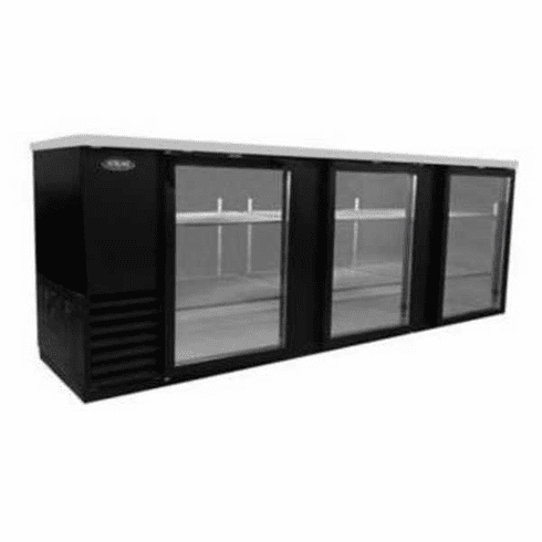 "Nor-Lake Advantedge™ Refrigerated Backbar Storage CabinetThree-Section95"" W39.2 Cubic Feet1/3 Hp115V/60/1Nema 5-15PUlEtl Safety And Sanitation Listed, Model# NLBB95-G"