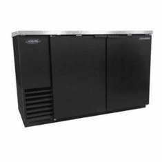 "Nor-Lake Advantedge� Refrigerated Backbar Storage CabinetTwo-Section59"" W23.7 Cubic Feet1/3 Hp115V/60/1Nema 5-15PUlEtl Safety And Sanitation Listed, Model# NLBB59"