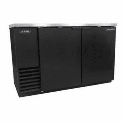 "Nor-Lake Advantedge™ Refrigerated Backbar Storage CabinetTwo-Section59"" W23.7 Cubic Feet1/3 Hp115V/60/1Nema 5-15PUlEtl Safety And Sanitation Listed, Model# NLBB59"