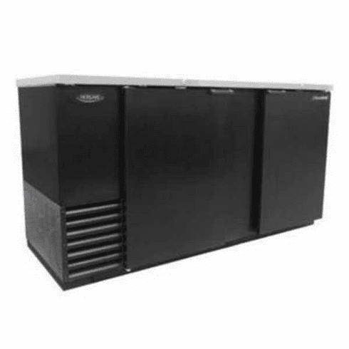 """Nor-Lake Advantedge™ Refrigerated Backbar Storage CabinetTwo-Section69"""" W28 Cubic Feet1/3 Hp115V/60/16.6 AmpsCordUlEtl Safety And Sanitation Listed, Model# NLBB69"""