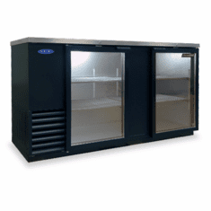 "Nor-Lake Advantedge� Refrigerated Backbar Storage CabinetTwo-Section69"" W28 Cubic Feet1/3 Hp115V/60/1Nema 5-15PUlEtl Safety And Sanitation Listed, Model# NLBB69G"