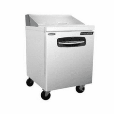 """Nor-Lake Advantedge Refrigerated Sandwich Unit27-1/2"""" W8 Pan Opening,6-1/6 Pans And 2-1/9 Pans Included,Temp Range 32� To 40� F1/5 Hp115V/60/1UlC-UlEtl, Model# NLSP27-8"""