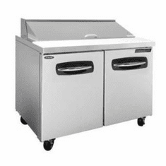 """Nor-Lake Advantedge� Refrigerated Sandwich Unit36-3/8"""" W10 Pan Opening (10-1/6 Pans Included)Temp Range 32� To 40� F1/5 Hp115V/60/13.4 Amps,UlC-UlEtl, Model# NLSP36-10"""