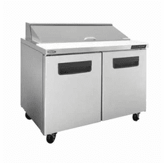 """Nor-Lake Advantedge Refrigerated Sandwich Unit48-1/4"""" W12 Pan Opening(12-1/6 Pans Included)Temp Range 32� To 40� F 3/8 Hp115V/60/17.9 AmpsUlC-UlEtl, Model# NLSP48-12-002"""