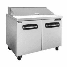"""Nor-Lake Advantedge� Refrigerated Sandwich Unit48-1/4"""" W12 Pan Opening (12-1/6 Pans Included)Temp Range 32� To 40� F,3/8 Hp115V/60/17.9 AmpsUlC-UlEtl, Model# NLSP48-12"""