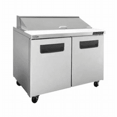 """Nor-Lake Advantedge Refrigerated Sandwich Unit48-1/4"""" W12 Pan Opening (12-1/6 Pans Included)Temp Range 32� To 40� F3/8 Hp115V/60/17.9 AmpsUlC-UlEtl, Model# NLSP48-12-003"""