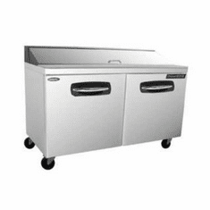 """Nor-Lake Advantedge� Refrigerated Sandwich Unit60-3/8"""" W16 Pan Opening (16-1/6 Pans Included)Temp Range 32� To 40� F3/8 Hp115V/60/17.9 Amps,UlC-UlEtl, Model# NLSP60-16"""