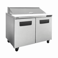 """Nor-Lake Advantedge Refrigerated Sandwich Unit60-3/8"""" W16 Pan Opening (16-1/6 Pans Included)Temp Range 32� To 40� F3/8 Hp115V/60/17.9 AmpsUlC-UlEtl, Model# NLSP60-16-003"""