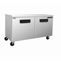 "Nor-Lake Advantedge� Undercounter Refrigerator60-3/8"" W Auto DefrostTemperature Range 32� To 40� F3/8 Hp115V/60/17.9 AmpsUlC-UlEtlEnergy Star, Model# NLUR60-002"