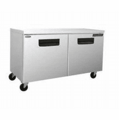 "Nor-Lake Advantedge� Undercounter Refrigerator60-3/8"" W Temperature Range 32� To 40� F,3/8 Hp115V/60/17.9 AmpsCordNema 5-15PUlC-UlEtlEnergy Star, Model# NLUR60-003"