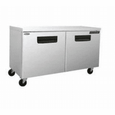 "Nor-Lake Advantedge� Undercounter Refrigerator72-3/8"" W(2) DoorsTemp Range 32� To 40� F3/8 Hp115V/60/18.1 Amps UlC-UlEtlEnergy Star, Model# NLUR72-004"