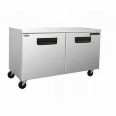 "Nor-Lake Advantedge� Undercounter Refrigerator72-3/8"" W(2) DoorsTemp Range 32� To 40� F3/8 Hp115V/60/18.1 AmpsUlC-UlEtlEnergy Star, Model# NLUR72-003"