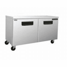 "Nor-Lake Advantedge™ Undercounter Refrigerator72-3/8"" WAuto DefrostTemp Range 32° To 40° F3/8 Hp115V/60/18.1 Amps,UlC-UlEtlEnergy Star, Model# NLUR72-002"