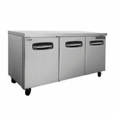 "Nor-Lake Advantedge™ Undercounter Refrigerator72-3/8"" WAuto DefrostTemp Range 32° To 40° F3/8 Hp115V/60/18.1 AmpsUlC-UlEtl SanitationEnergy Star, Model# NLUR72"