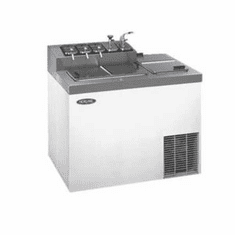 """Nor-Lake Ice Cream Dipping/Topping Cabinet43"""" WIncludes Floor DrainSelf-Contained RefrigerationWhite Enamel Exterior,1/4 Hp115V/60/1C-Ul & Ul ListedNsf, Model# ZF124WVS/0"""