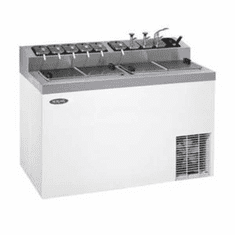 """Nor-Lake Ice Cream Dipping/Topping Cabinet54"""" WIncludes Floor DrainSelf-Contained Refrigeration1/3 Hp115V/60/17.3 AmpsNema 5-15PC-Ul & Ul ListedNsf, Model# ZF174WVS/0"""
