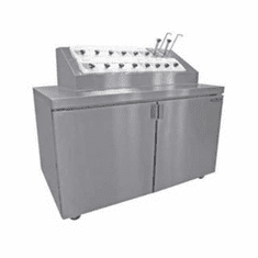 Nor-Lake Ice Cream Topping Cabinet UnitRefrigerated BaseOpening Dual Syrup Rail Jars And Pumps Not IncludedSs Top1/4 Hp115V/60/110.0 Amps UlC-UlUl ListedZr152Sms-0-2, Model ZR152SMS/0-2