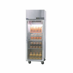 Nor-Lake Nova� Reach-In Refrigerator1-SectionTop Mount CompressorS/S Exterior And Interior1/4 Hp115V/60/1Cord & PlugUlC-UlUl Sanitation, Model# NR241SSG/0X