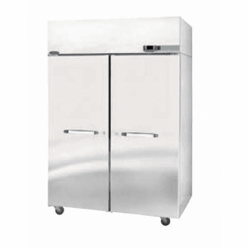 Nor-Lake Nova Reach-In Refrigerator2-SectionTop Mount Compressor 1/3 Hp115V/60/1Cord & PlugUlC-UlUl SanitationDoe ListedEnergy Star®, Model# NR524SSS/0