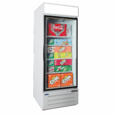 Nor-Lake Refrigerated Merchandiser25 Cubic Feet1-DoorBottom Mount Compressor White Exterior & Interior1/5 Hp115V/60/1Cord And PlugNsfUlC-Ul Listed, Model# NLGRP27-HG-W
