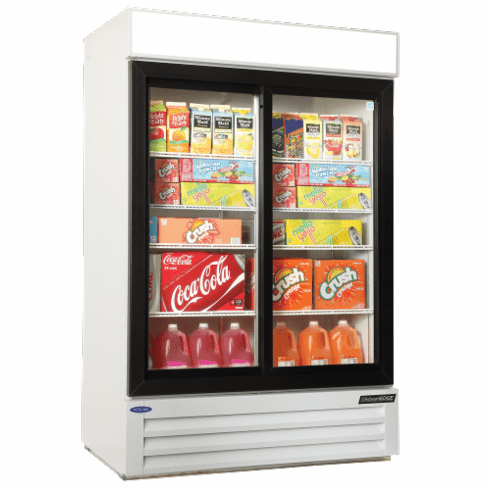 Nor-Lake Refrigerated Merchandiser45.7 Cubic Feet2-DoorBottom Mount Compressor1/3 Hp115V/60/1Cord And PlugNsfUlC-Ul Listed, Model# NLGRP48-SL-W