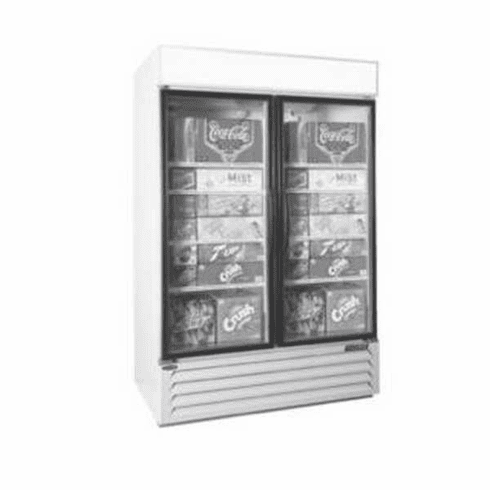 Nor-Lake Refrigerated Merchandiser45.7 Cubic FeetTwo-DoorBottom Mount Compressor1/3 Hp115V/60/1Cord And PlugNsfUlC-Ul Listed, Model# NLGRP48-HG-W