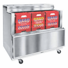 Norlake Dual Access Milk Coolers