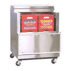 Norlake Open Front Milk Coolers