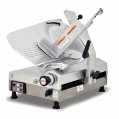 "Omas 13"" Automatic Meat Slicer Gravity Feed Gear Driven NSF ETL, Model 13645"