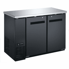 "Omcan (Fma) 49"" Double Solid Door Bottle Cooler w/ 11.8 Cu Ft Capacity, Model 50057"