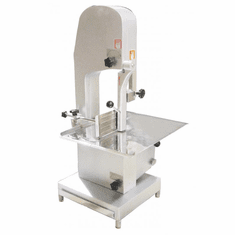 "Omcan (Fma) 1.5 HP Table Top Meat Cutting Bone Band Saw 78.75"" Length Blade, Model 19458"