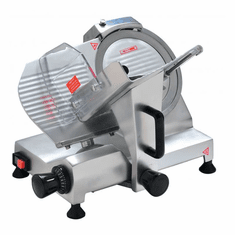 "Omcan (Fma) 10"" Manual Meat Slicer Gravity Feed 1/5 HP ETL, Model 19067"