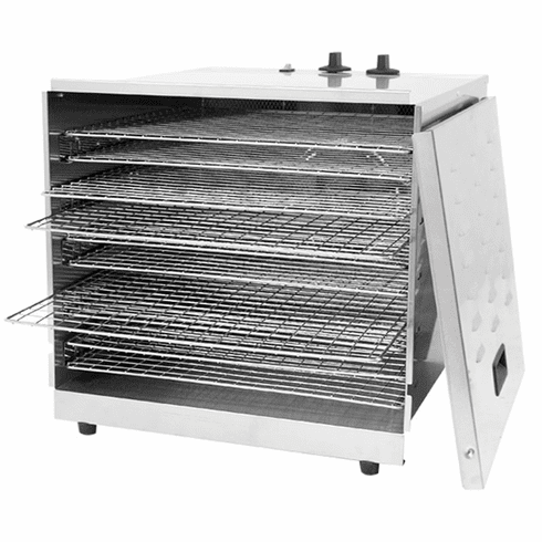 Omcan (Fma) 10 Tray Stainless Steel Food Dehydrator, Model 43222