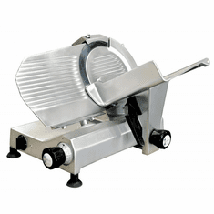 "Omcan (Fma) 11"" Manual Meat Slicer Gravity Feed Belt Driven .35 Hp, Model 13625"