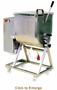 Omcan (Fma) 110 Lb Capacity 1.5 Hp Heavy Duty Meat Mixer - Mx50, Model# 13159