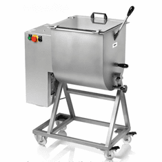 Omcan (Fma) 110 LB Heavy Duty Electric Meat Mixer 1.5 HP (50 KG), Model 13159