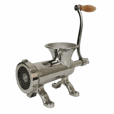 Omcan (Fma) 10 Screw Down Style Stainless Steel Manual Meat Grinder & Sausage Stuffer, Model 44418