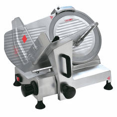 "Omcan (Fma) 12"" Manual Meat Slicer Gravity Feed .33 HP, ETL and CetlCE, Model 19068"
