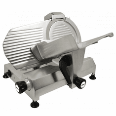 "Omcan (Fma) 12"" Manual Meat Slicer Gravity Feed Belt Driven 1/2 Hp, Model 13629"