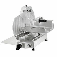 "Omcan (Fma) 12"" Manual Meat Slicer Gravity Feed Belt Driven 1/2 Hp, Model 46162"