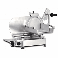 "Omcan (Fma) 13"" Manual Meat Slicer Gravity Feed Belt Driven 1/2 Hp, Model 46163"