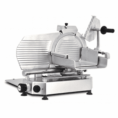 "Omcan (Fma) 14.5"" Manual Meat Slicer Gravity Feed Belt Driven 1/2 Hp, Model 13650"