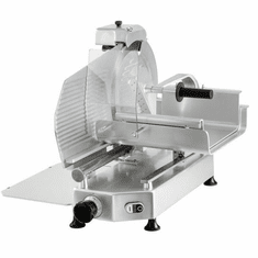"Omcan (Fma) 14"" Manual Meat Slicer Gravity Feed Belt Driven 1/2 Hp, Model 39583"