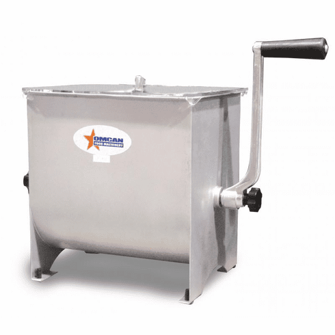 Omcan (Fma) 17 LB Stainless Steel Manual Meat Mixer, Model 13155