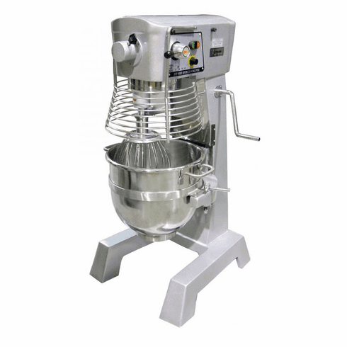 Omcan (Fma) 30 Qt General Purpose ETL Certified Baking Mixer w/ Guard & Timer 110V, Model 17836